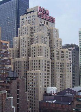 New Yorker Hotel Where Nikola Tesla Lived And Died New York Hotels Manhattan Hotels New York Pictures