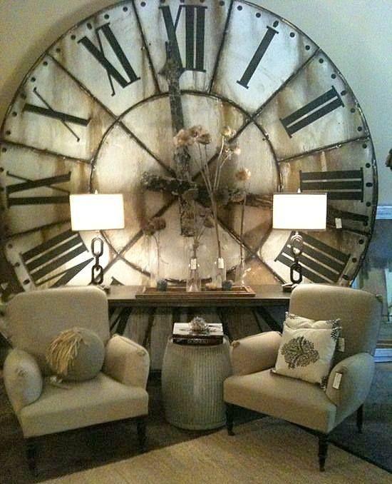 #Living #room #sofa #corner #clock