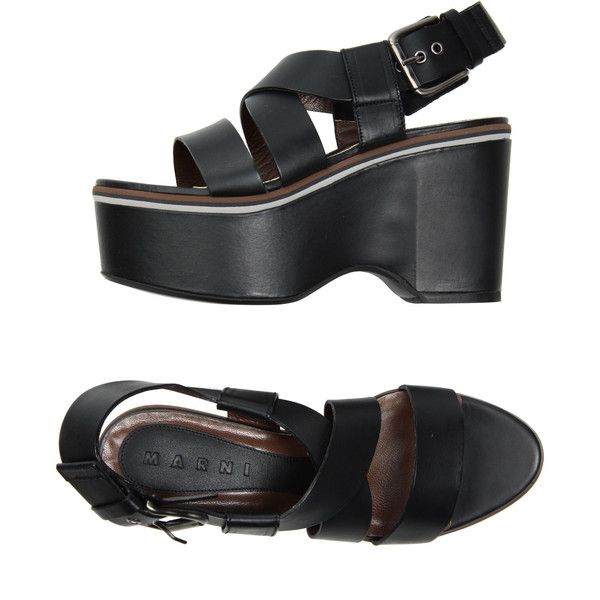 MARNI Wedges - Item 44454770 ($315) found on Polyvore