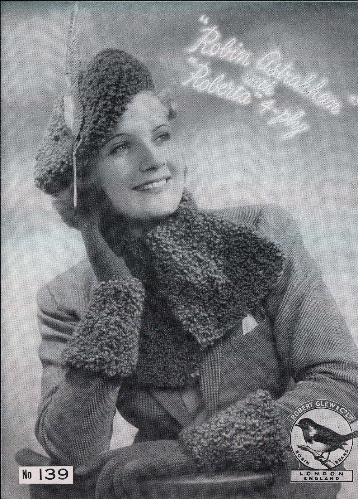 Robin No. 139 | Knitting Patterns | Pinterest | Knit patterns and ...