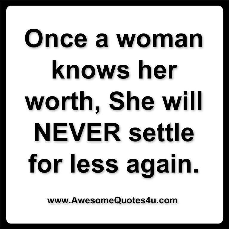 She is worth it!