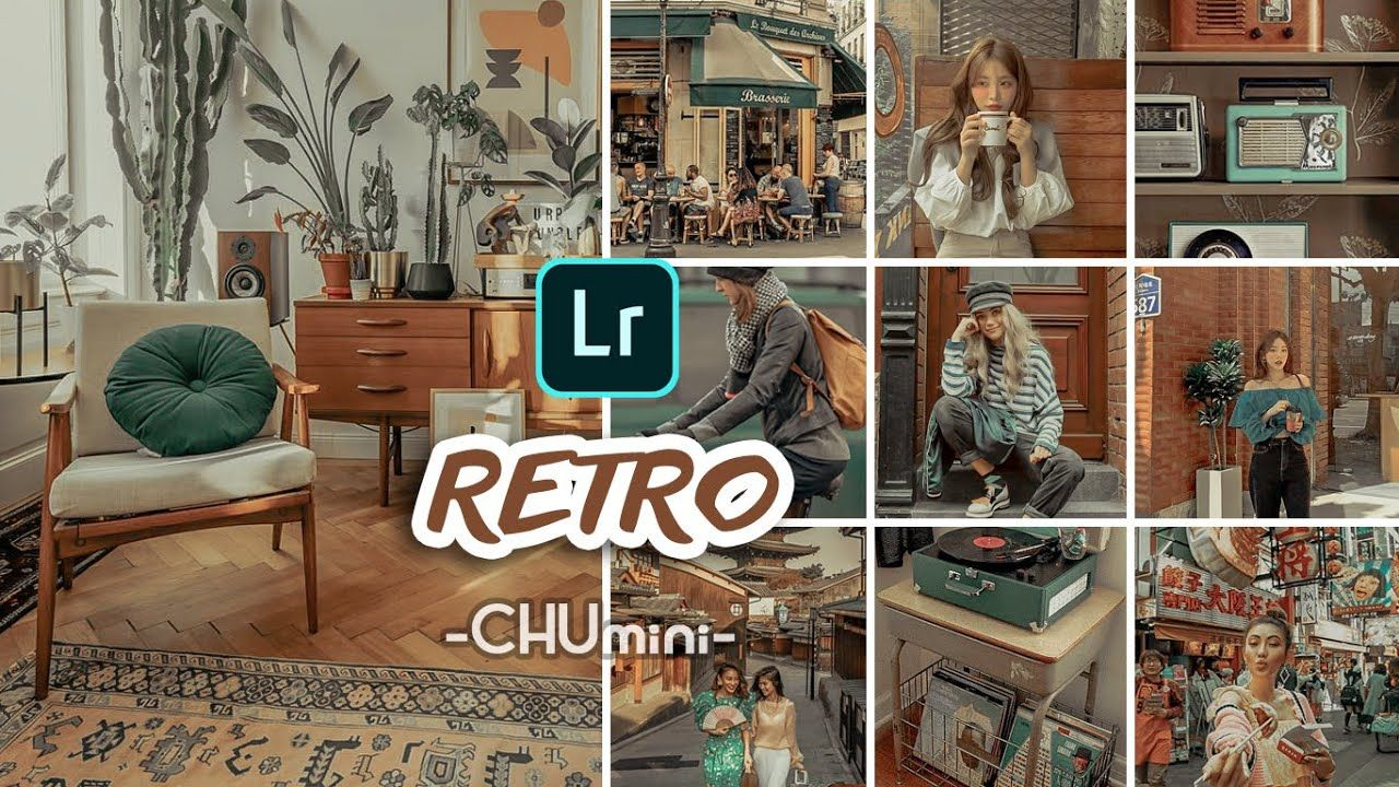CHU mini RETRO VINTAGE Lightroom Preset Lightroom