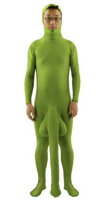 Morphsuit blind dating