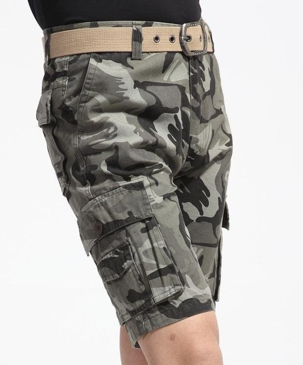 high quality plus size khaki,army knee length zipper belt summer ...