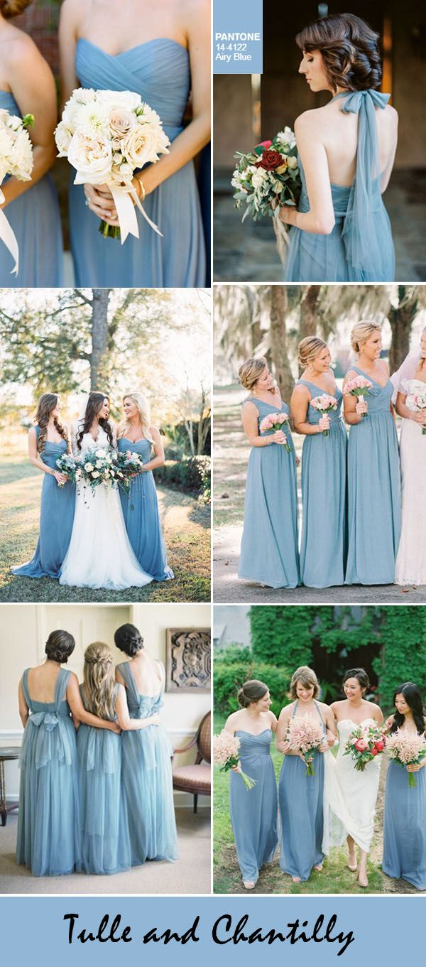 Top pantone fall wedding colors for bridesmaid dresses