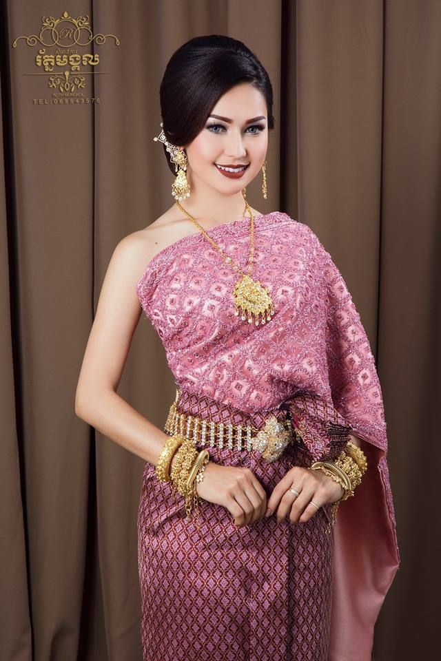 Pin de sarom toch en Cambodian dress | Pinterest