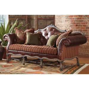 Rustic Leather Decor   Rustic Western And Southwestern Leather Sofas,  Chairs, And Ottomans