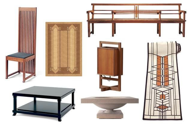 Charming Browse Through The Gallery For A Selection Of Frank Lloyd Wright Inspired  Furniture.