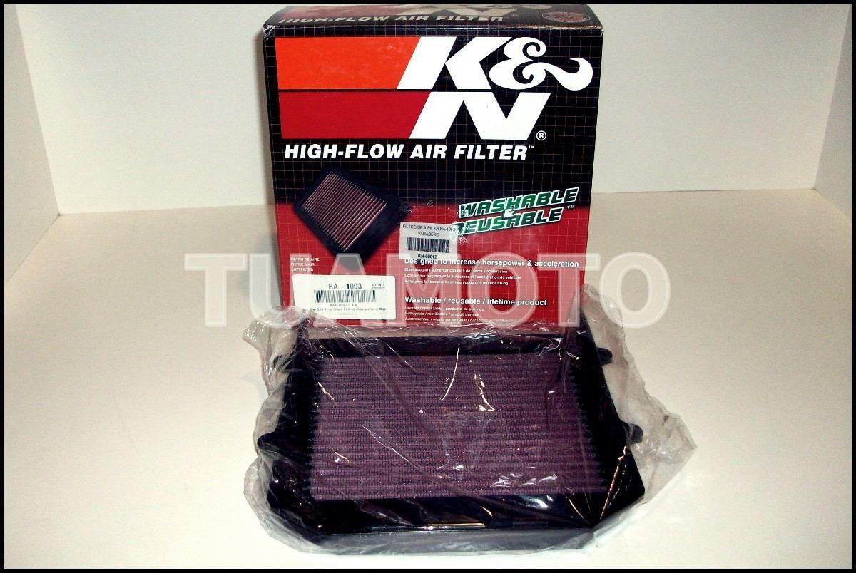 (4) Filtro De Aire K&n Para Honda Varadero Xl1000 V