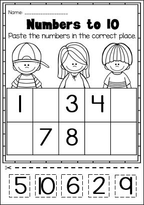 Kindergarten Math Printable Worksheet Pack NO PREP My