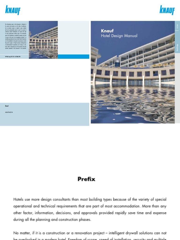 Knauf Hotel Design Manual-Web | Wall | Drywall