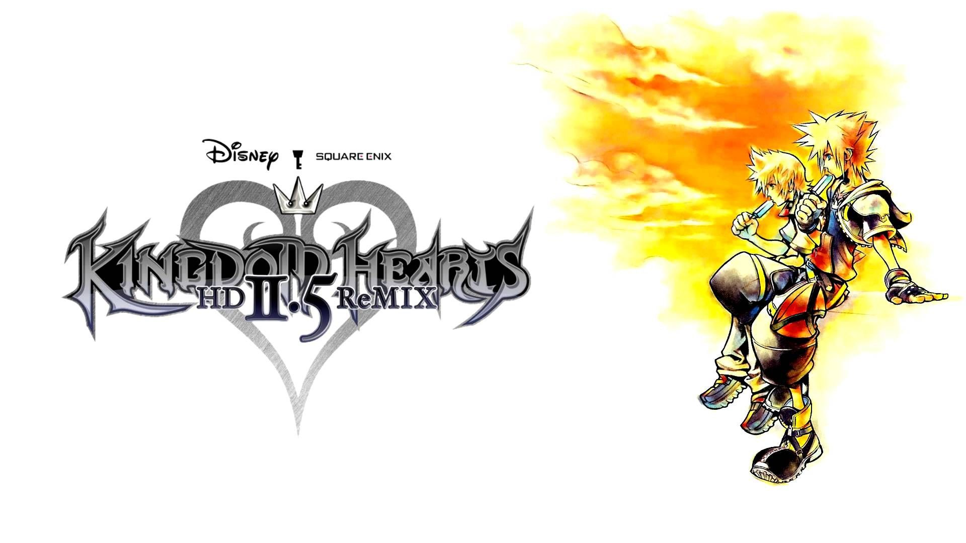 Kingdom Hearts HD 2.5 Remix wallpapers cool Proyectos
