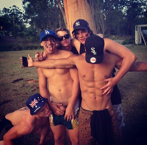 Hot Straight Boys