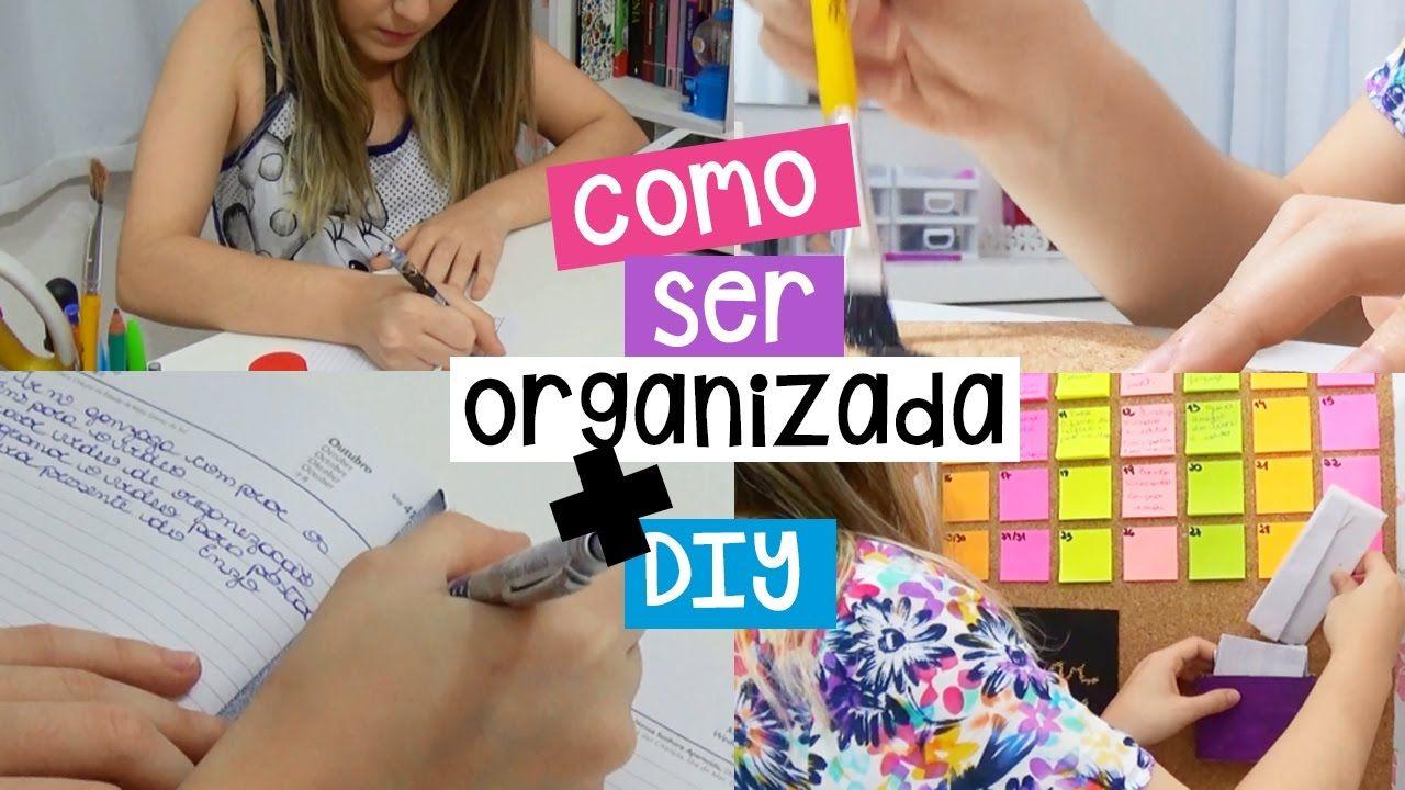 COMO SER MAIS ORGANIZADA + DIY | Victoria Bonna