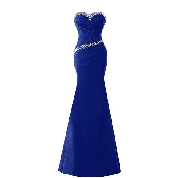 Amazon.com: Bess Bridal Women´s Long Mermaid Prom Gowns