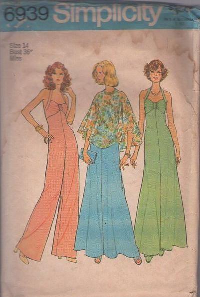 MOMSPatterns Vintage Sewing Patterns - Simplicity 6939 Vintage 70\'s ...