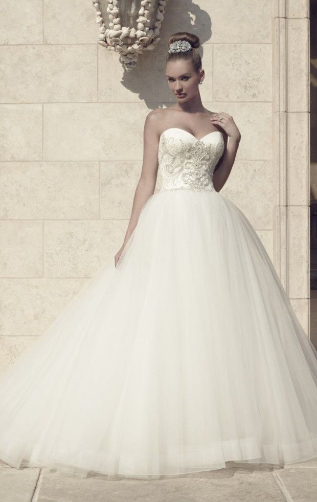 20 Beautiful Ball Gown Wedding Dresses for Glamorous Brides ...