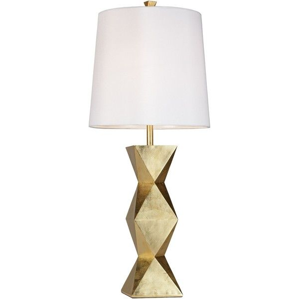 Universal Lighting And Decor Ripley Gold Table Lamp 185 Aud Liked On Polyvore Featuring Home Lighting Tabl Gold Table Lamp Table Lamp Stylish Table Lamps