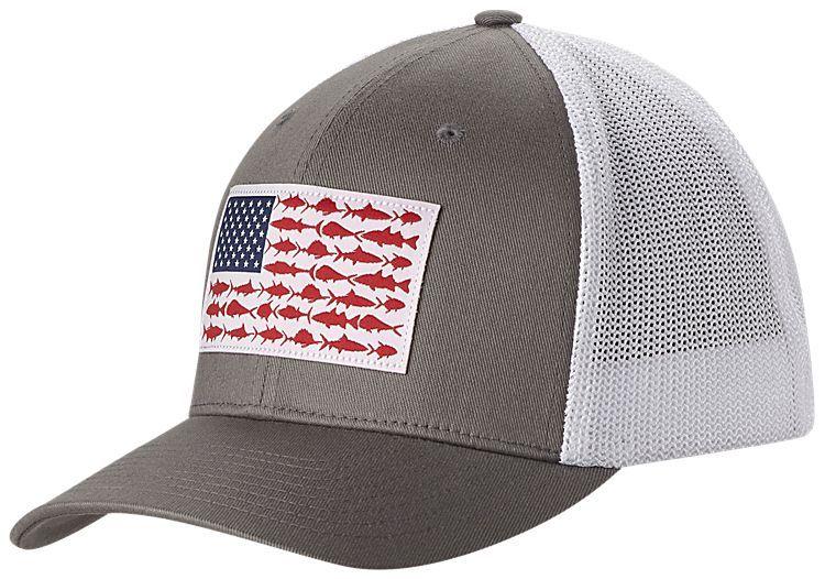 Columbia Pfg Fish Flag Mesh Ball Cap For Men Bass Pro Shops The