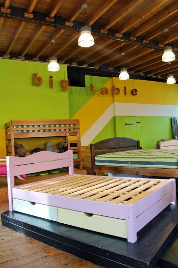 big table beds