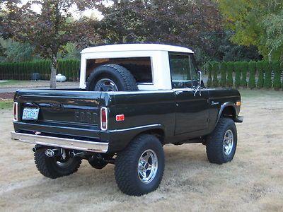 1972 Ford Bronco Half Cab - Bing Images