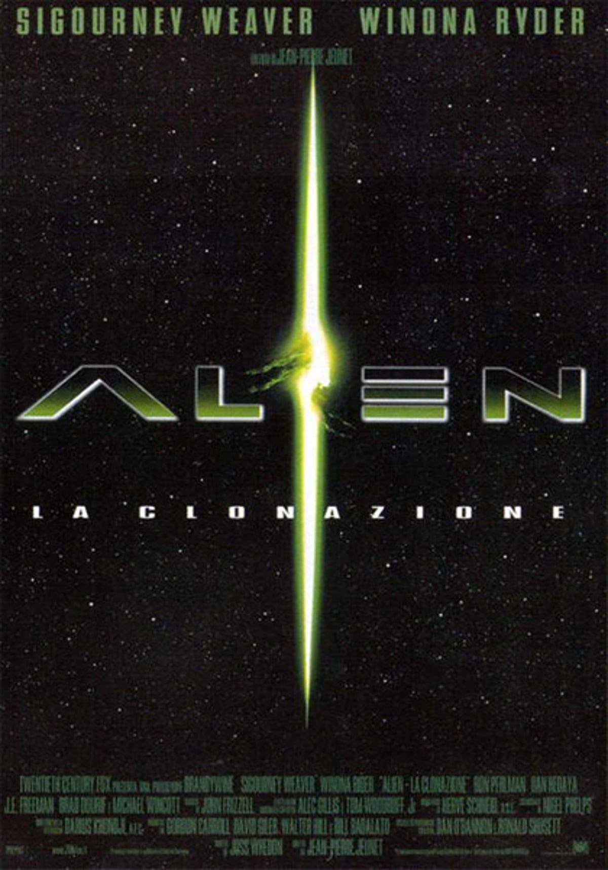 Alien La Clonazione Streaming Film E Serie Tv In Altadefinizione Hd Fantascienza Film Winona Ryder
