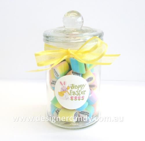 These stunning 100g french apothecary jars filled with easter mix these stunning 100g french apothecary jars filled with easter mix candy make lovely easter gifts the candy is nut free dairy free and gluten free a negle Images