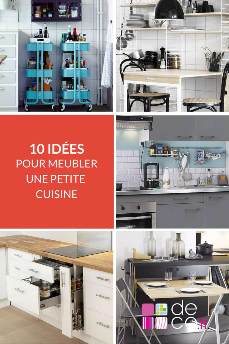 bien meubler une toute petite cuisine petites cuisines pinterest petite cuisine cuisines. Black Bedroom Furniture Sets. Home Design Ideas