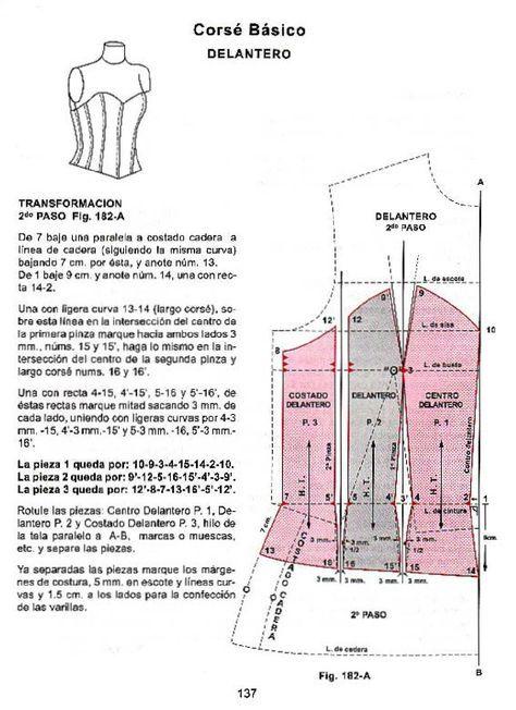 Corte de alta costura cyc   Patrones   Sewing, Sewing patterns y ...