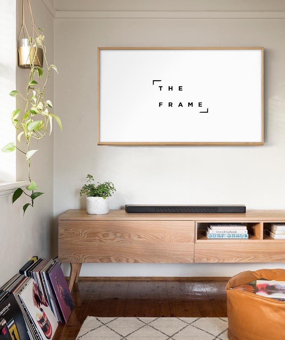 the frame lifestyle tv 4k ultra hd smart tv samsung. Black Bedroom Furniture Sets. Home Design Ideas
