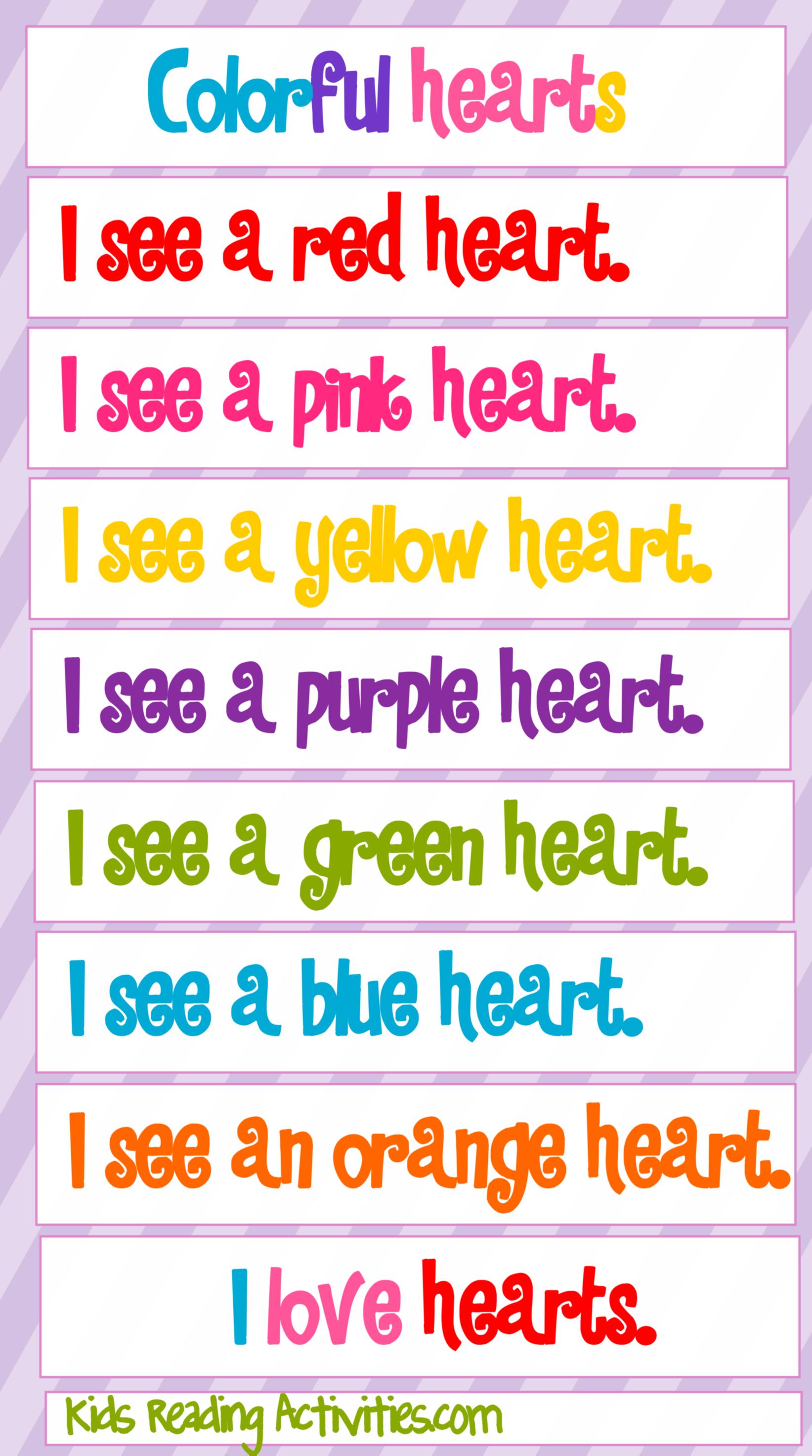 free pocket chart center | Literacy Centers | Valentines, Valentines day, Valentines day activities
