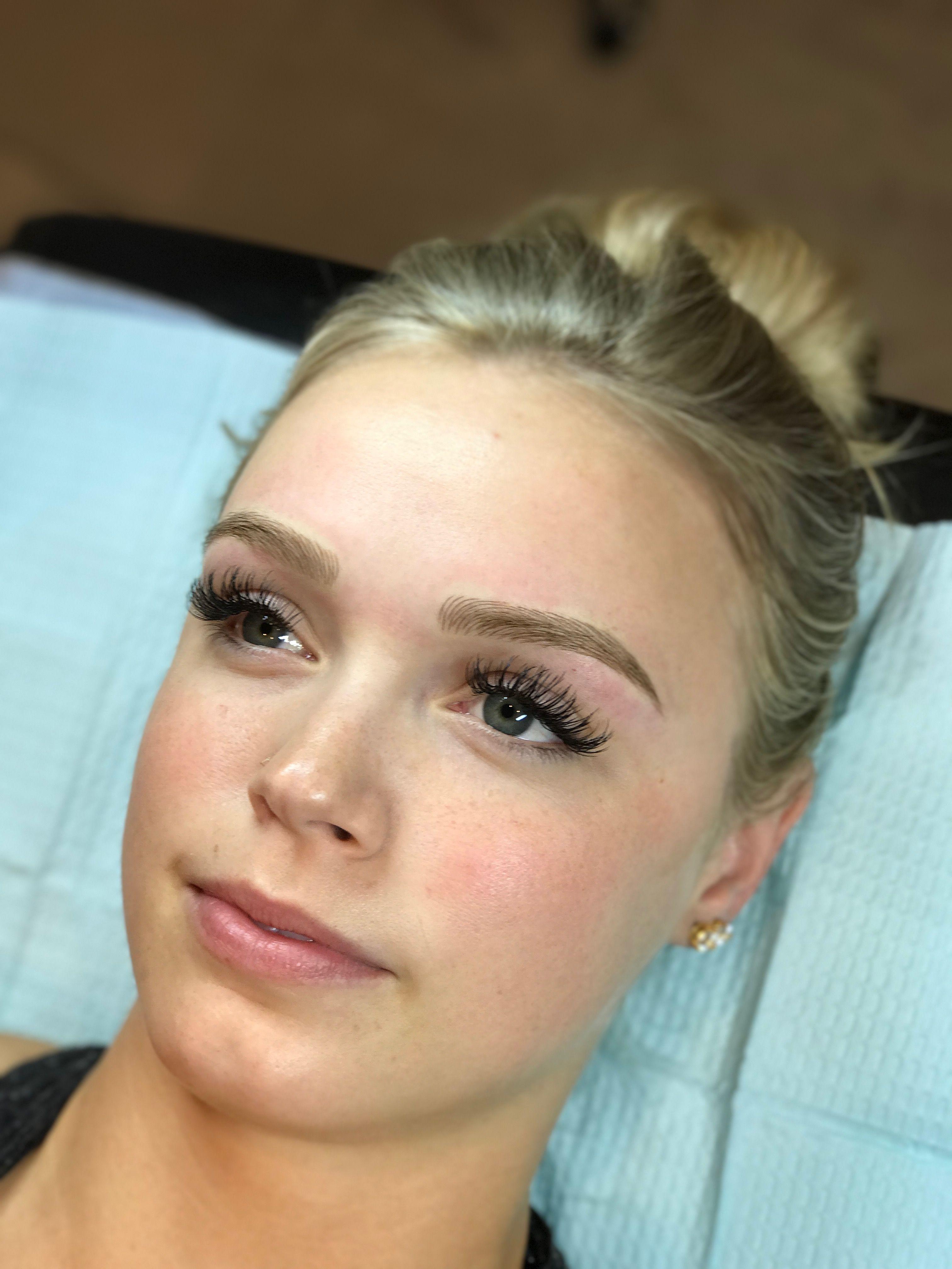 Image result for blonde eyebrows microblading | Blonde ...
