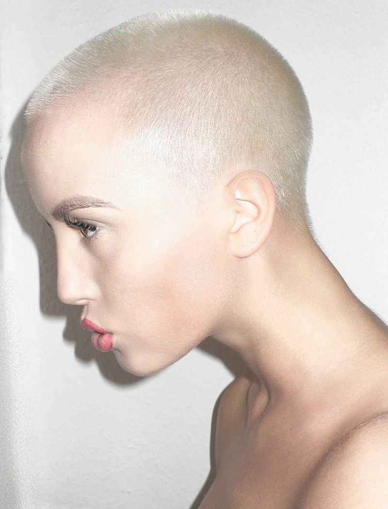 Hair head in shaved