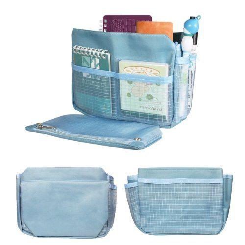 niceeshop(TM) Fashion Multi-function Travel Makeup Insert Handbag Organiser Purse Large liner Organizer Pouch Bag (Blue - 2), http://www.amazon.ca/dp/B00DNWW0UA/ref=cm_sw_r_pi_awdl_P6Mfub0PK04KG