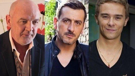 Connor McIntyre, Chris Gascoyne and Jack P Shepherd - Coronation Street