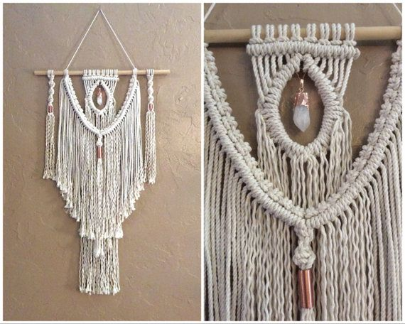 Macrame wall hanging tapestry woven wall hanging boho - Tapices de macrame ...