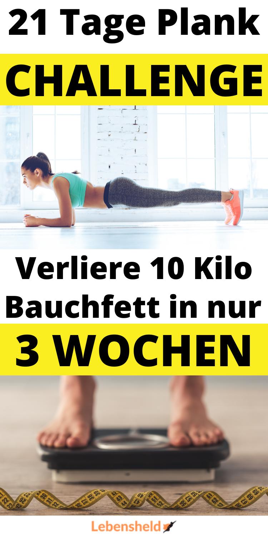 21 Tage Plank Challenge