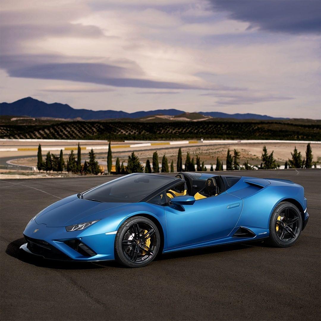 56 2k Likes 238 Comments Lamborghini Lamborghini On Instagram With The All New Huracan Evo Rwd Spyder P In 2020 Super Luxury Cars Super Sport Cars Lamborghini
