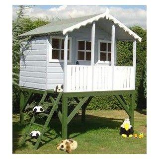 £430 Stork Playhouse (6' x 4' +2')