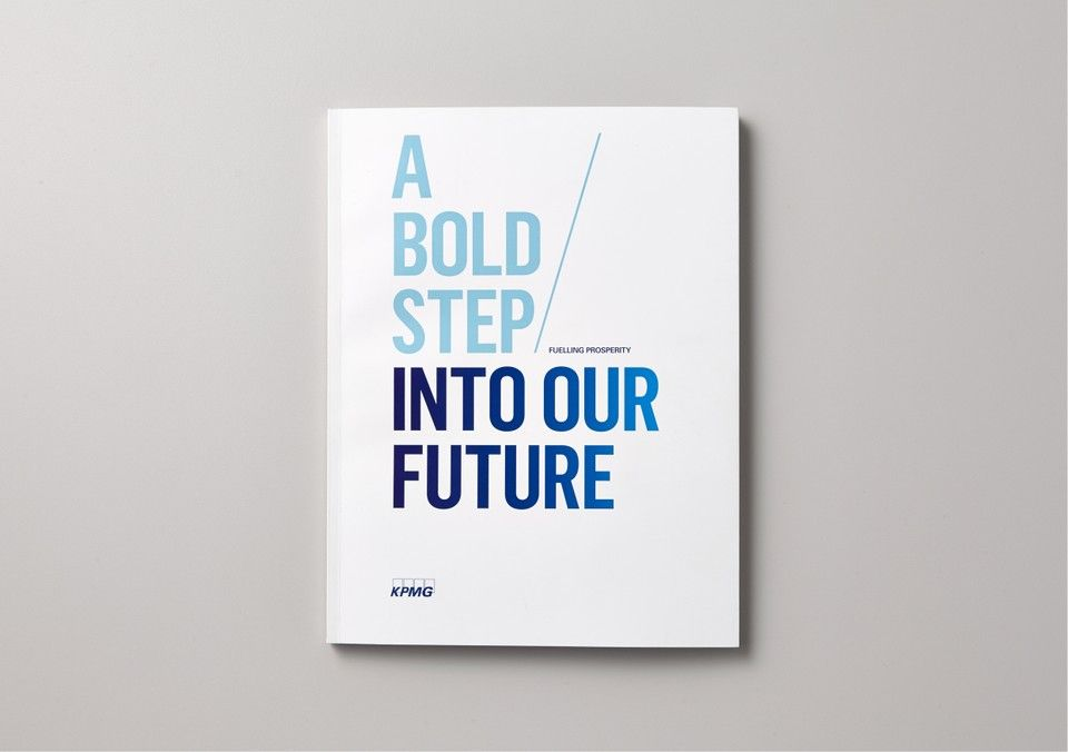 Best Awards - Saatchi \ Saatchi Design Worldwide   KPMG Fuelling - pamphlet layout