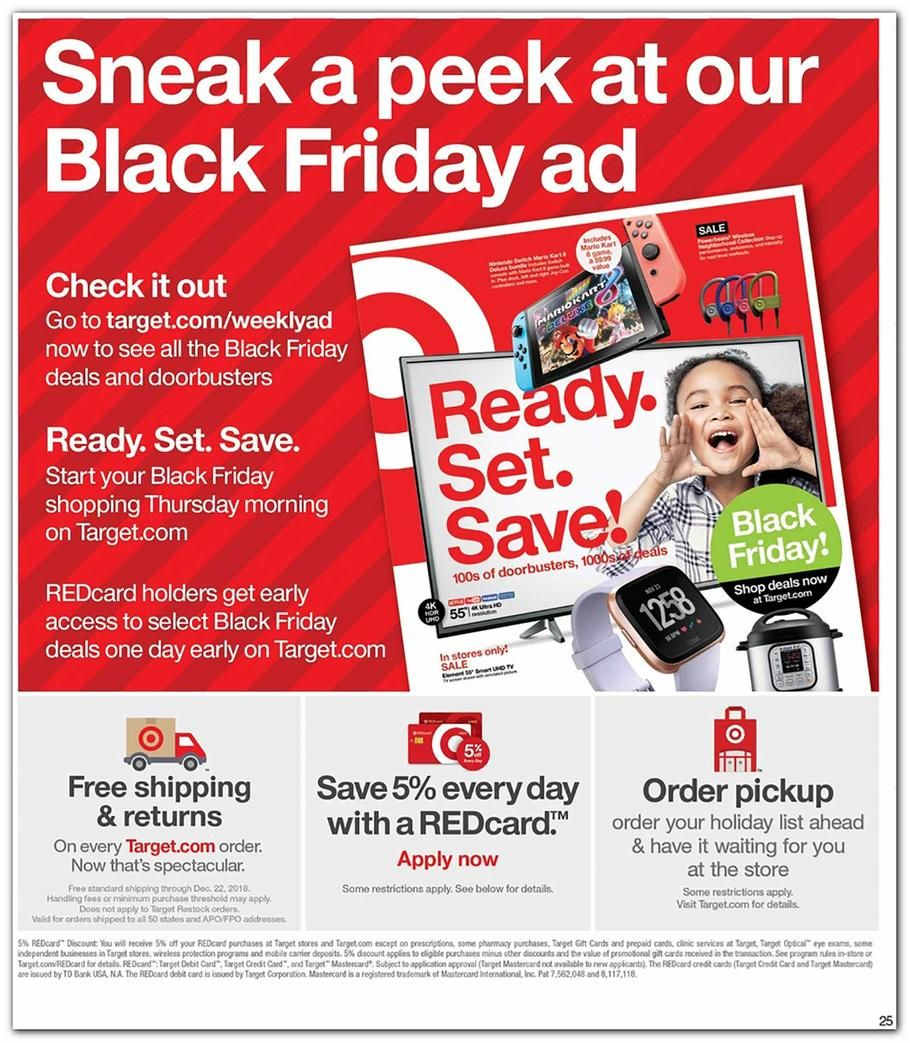 Target 4 Day Pre Black Friday 2018 Ads And Deals Browse The Target