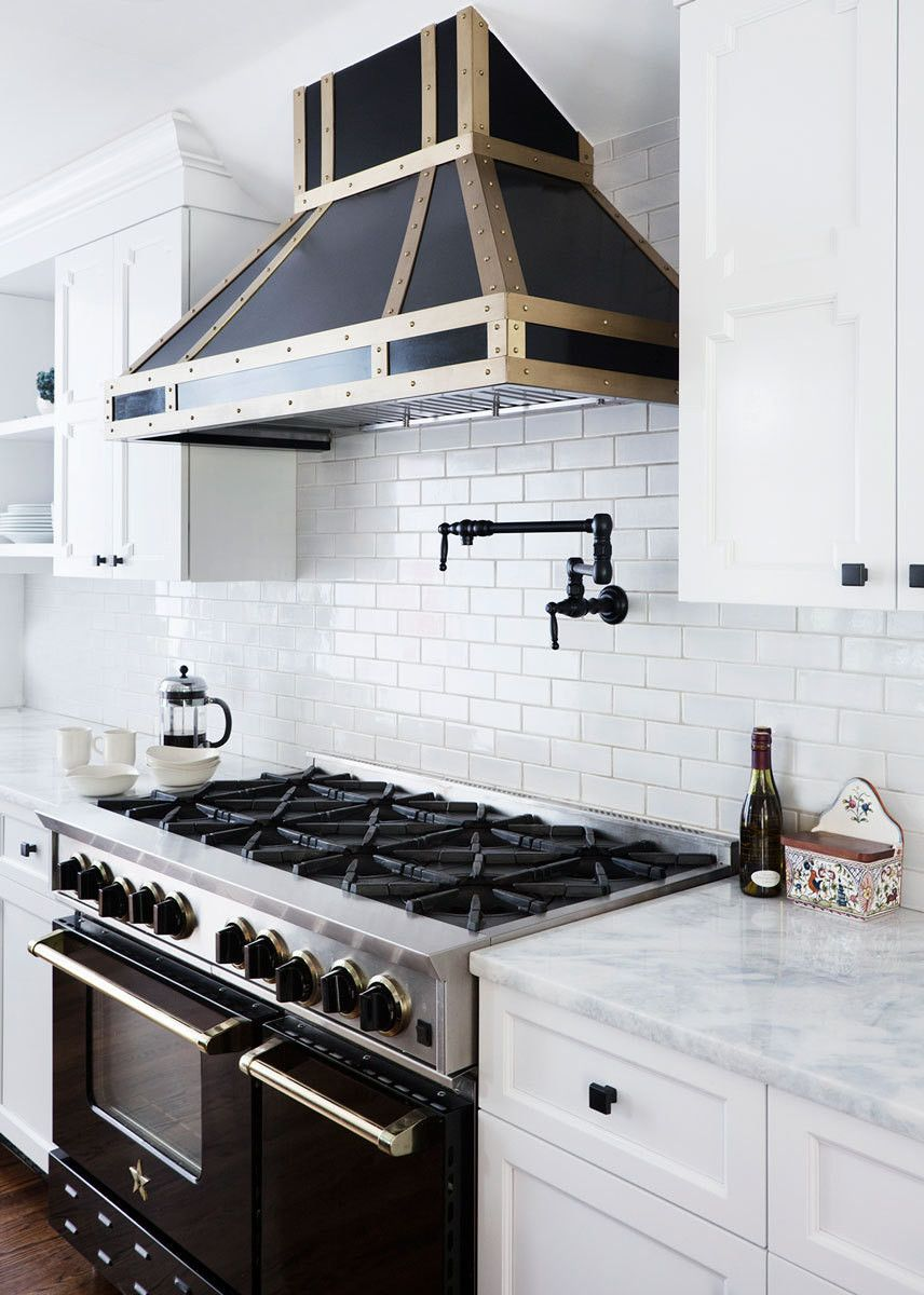 Black and brass hood by design manifest image via lonny mag for