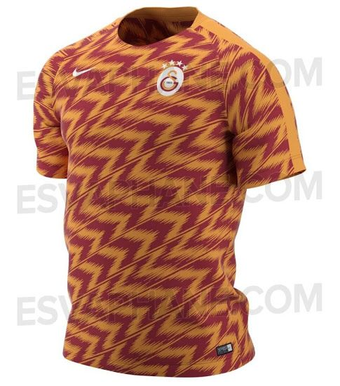Galatasaray 18-19 Pre-Match Shirt Leaked - Footy Headlines  6e6780e90