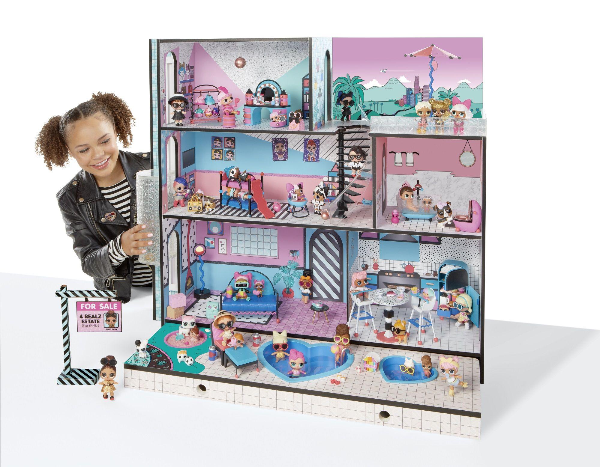 Walmart Toys For Girls : L.o.l. surprise house with 85 surprises walmart.com l.o.l.