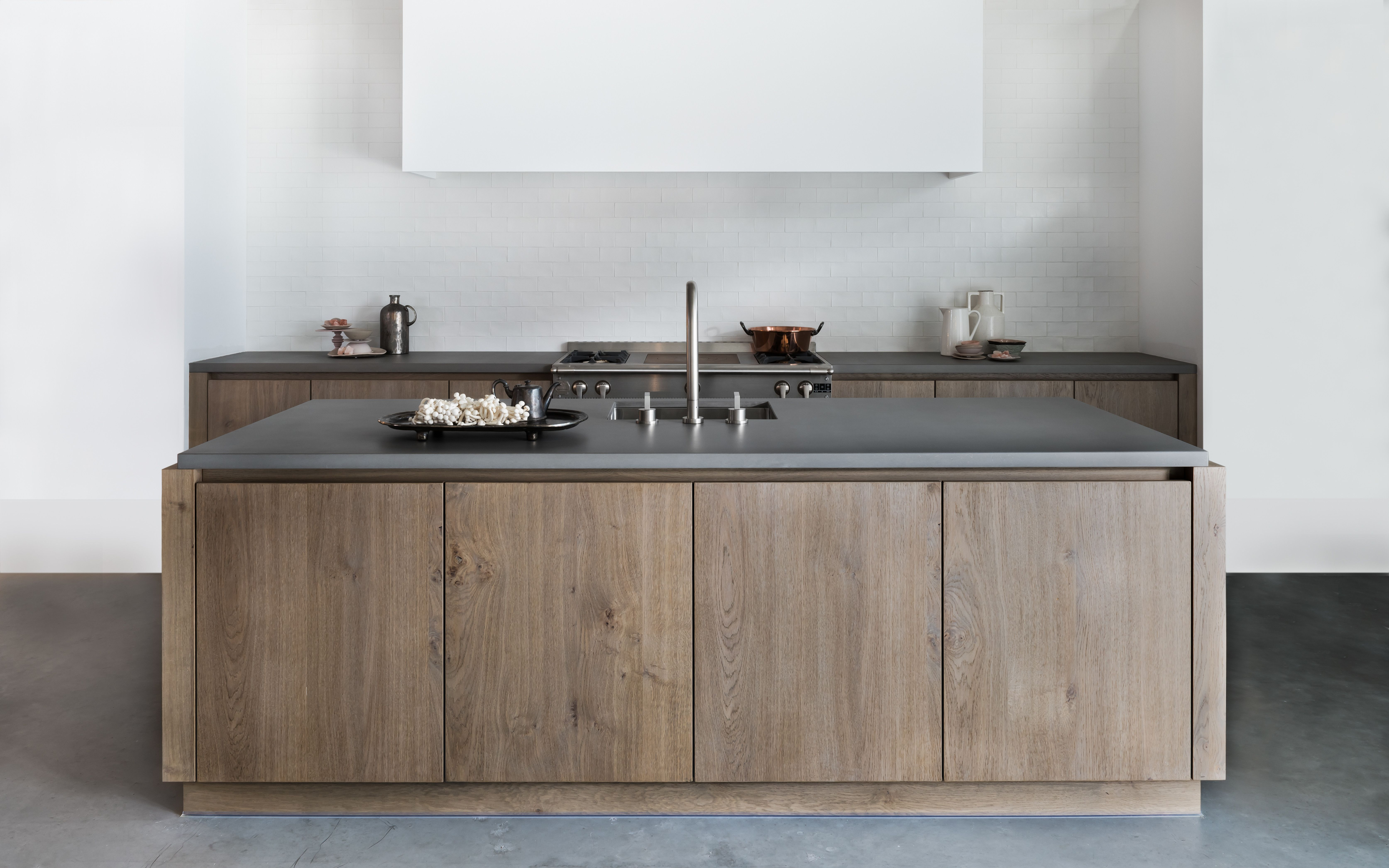Ceramic Signature tile - matte white | Piet Boon Kitchen | SIGNATURE ...