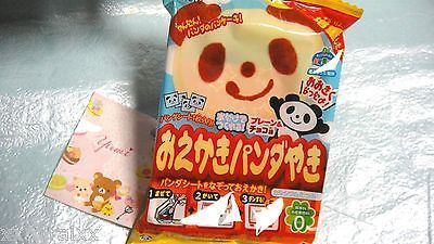 "$2.80   Kracie ""Oekaki Panda Yaki"" a lot of calcium 178mg!! Popin' Cookin' DIY JAPAN"