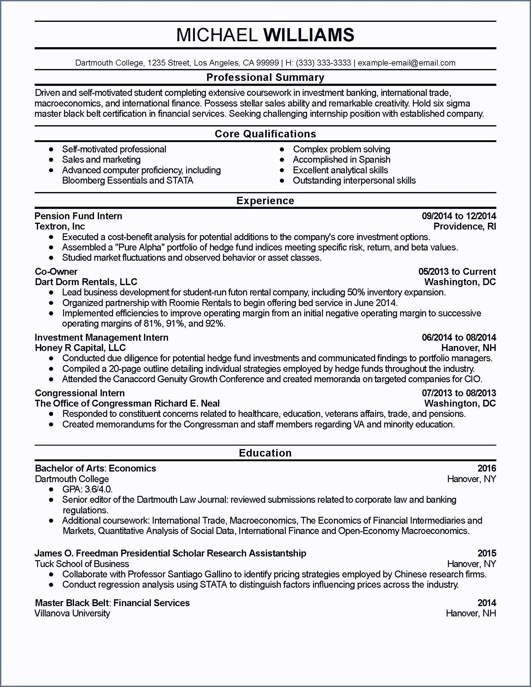 Business Analyst Skills Resume Awesome Inspirational Investment Banking Business Analyst Resume