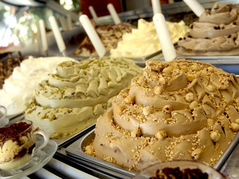 Cream-Based Gelato, Italy