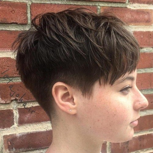 20 Stunning Looks With Pixie Cut For Round Face In 2018