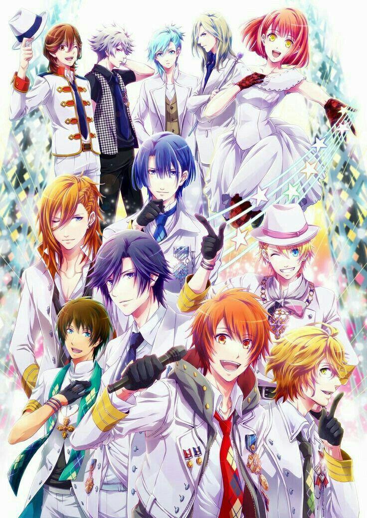 They are beautiful!! Uta no prince sama, Anime, Utas